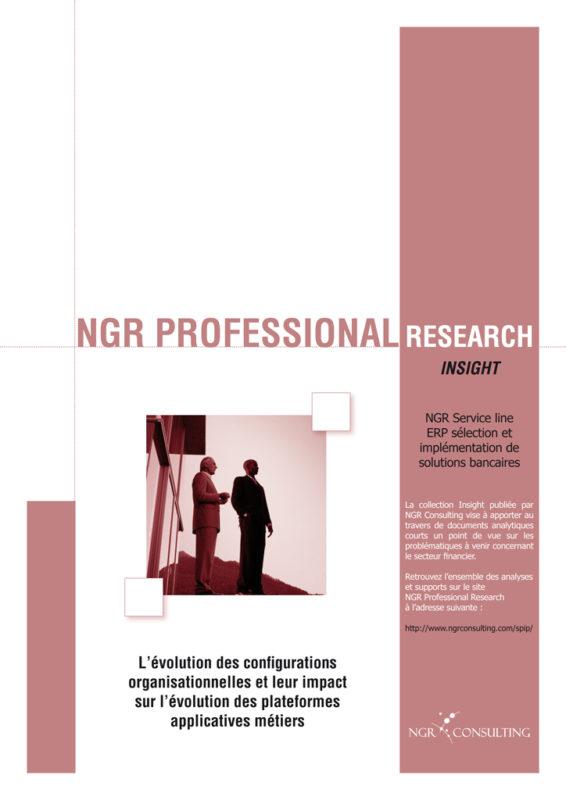 L'évolution des configurations organisationnelles et leur impact sur l'évolution des plateformes applicatives métiers